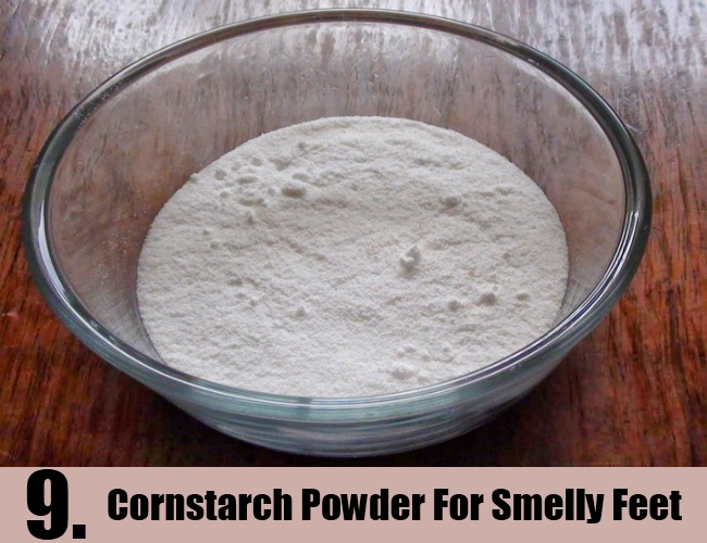 Cornstarch Powder For Smelly Feet