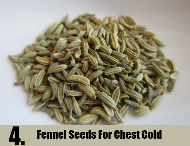 Fennel Seeds For Chest Cold
