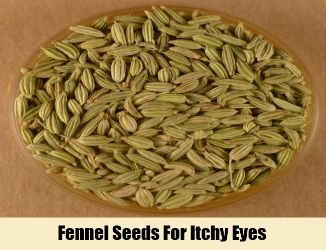 Fennel Seeds For Itchy Eyes