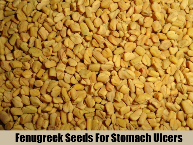 Fenugreek Seeds For Stomach Ulcers