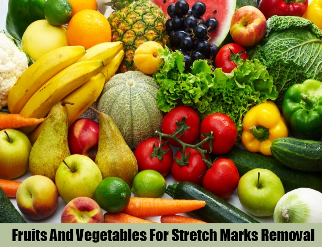Fruits And Vegetables For Stretch Marks