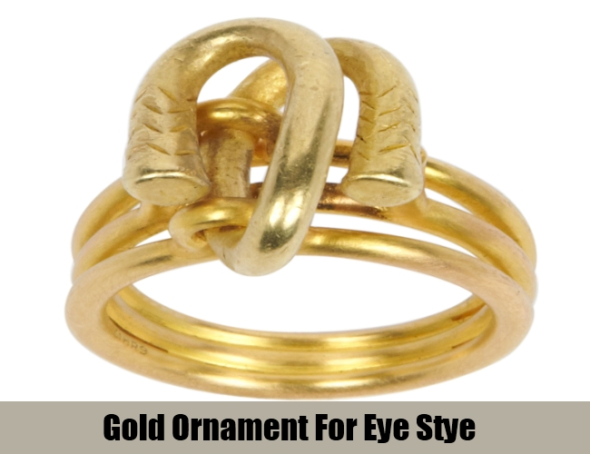 Gold Ornament For Eye Stye