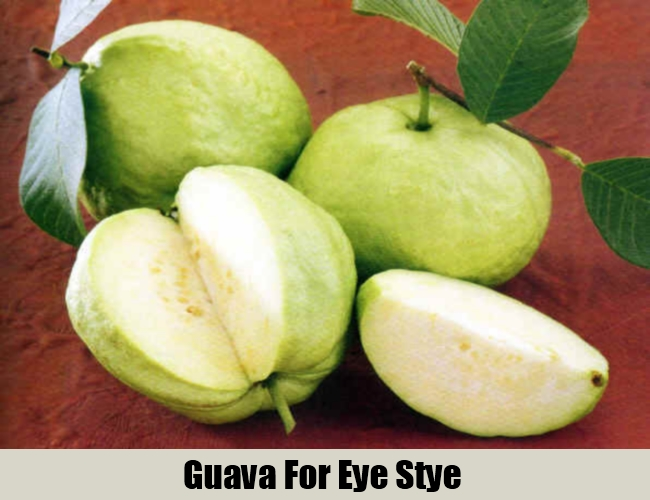 Guava For Eye Stye