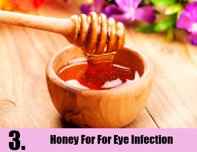 Honey For For Eye Infection