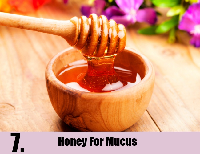Honey For Mucus