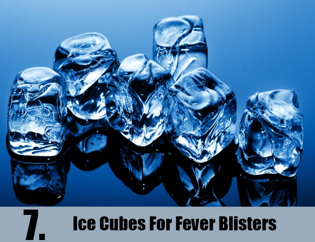 Ice Cubes For Fever Blisters