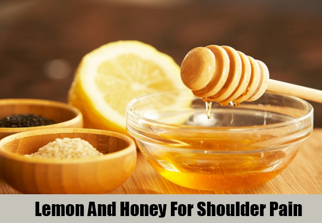 Lemon And Honey For Shoulder Pain