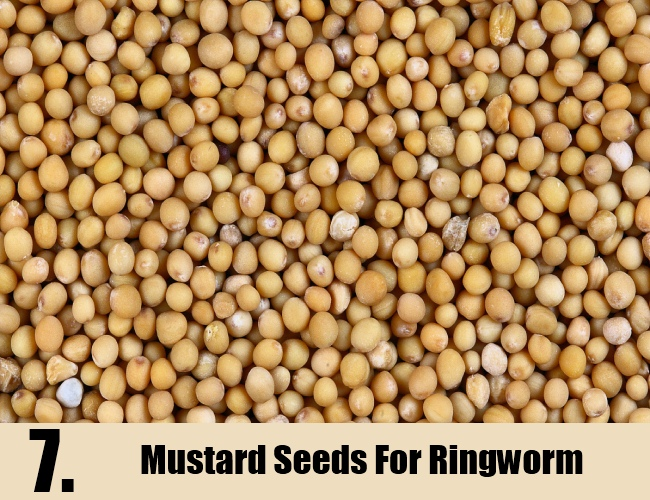 Mustard Seeds For Ringworm