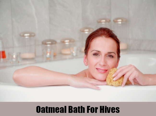 Oatmeal Bath For Hives