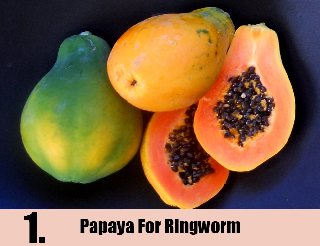 Papaya For Ringworm