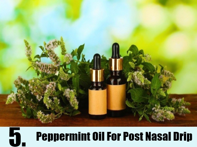 Peppermint Oil For Post Nasal Drip