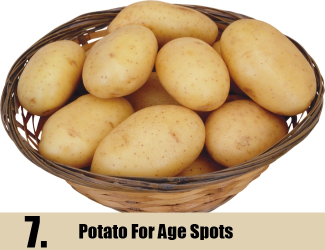Potato For Age Spots