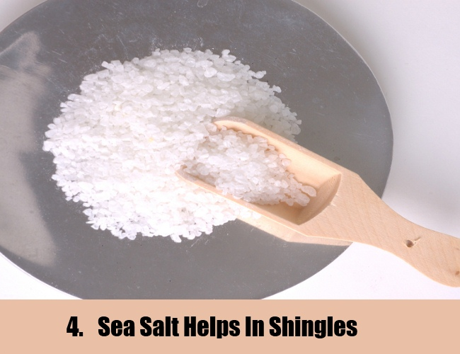 Sea Salt For Shingles