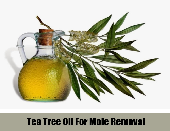 Tea Tree Oil For Mole Removal