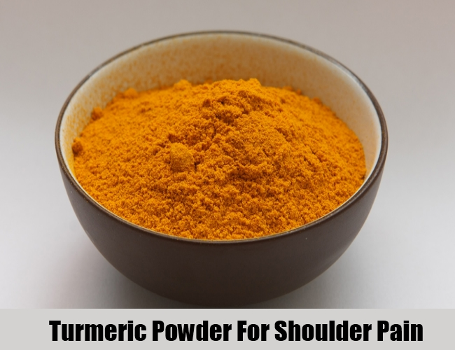 Turmeric Powder For Shoulder Pain