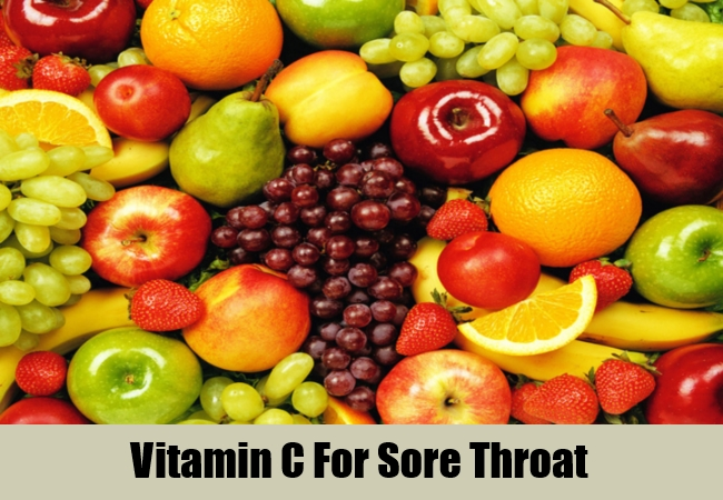Vitamin C For Sore Throat