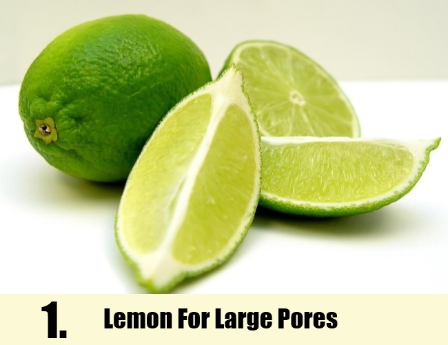 lemon For Large Pores