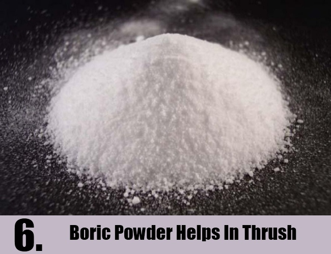 Boric Powder Helps In Thrush