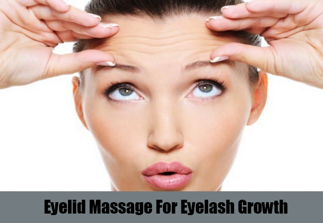 Eyelid Massage For Eyelash Growth