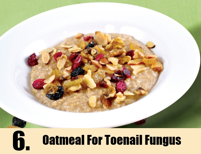 Oatmeal For Toenail Fungus