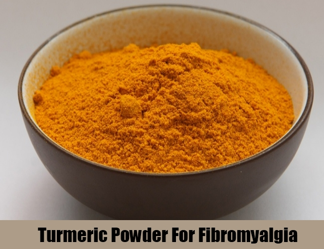 Turmeric Powder For Fibromyalgia