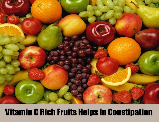 Vitamin C Rich Fruits Helps In Constipation