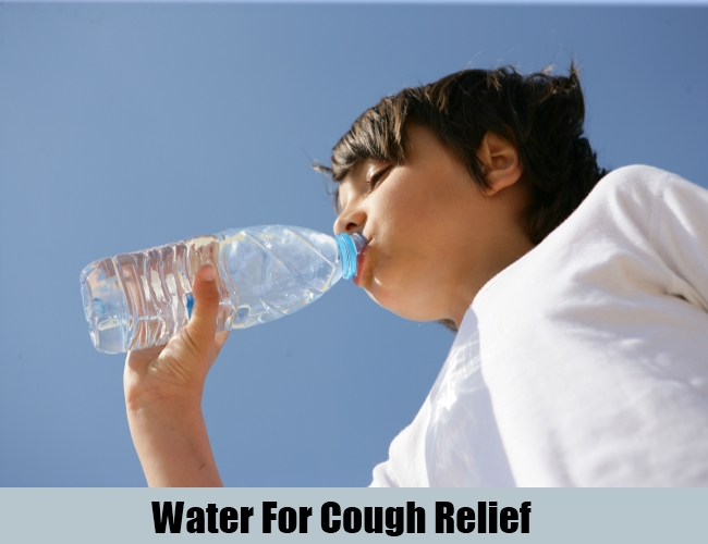 Water For Cough Relief