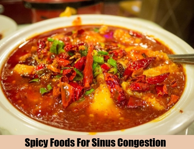 Spicy Foods For Sinus Congestion