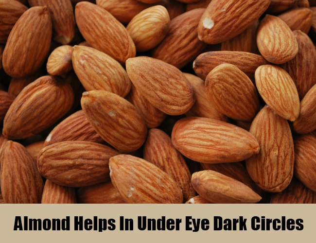 Almond Helps In Under Eye Dark Circles