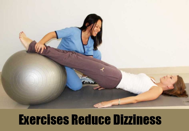 Exercises Reduce Dizziness
