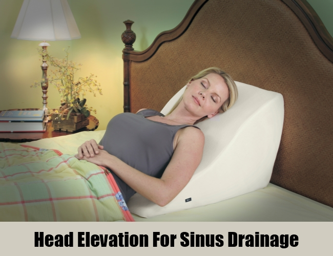 Head Elevation For Sinus Drainage