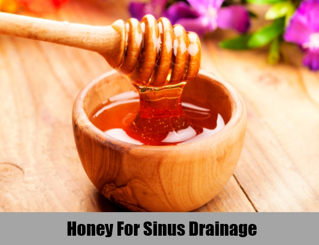 Honey For Sinus Drainage