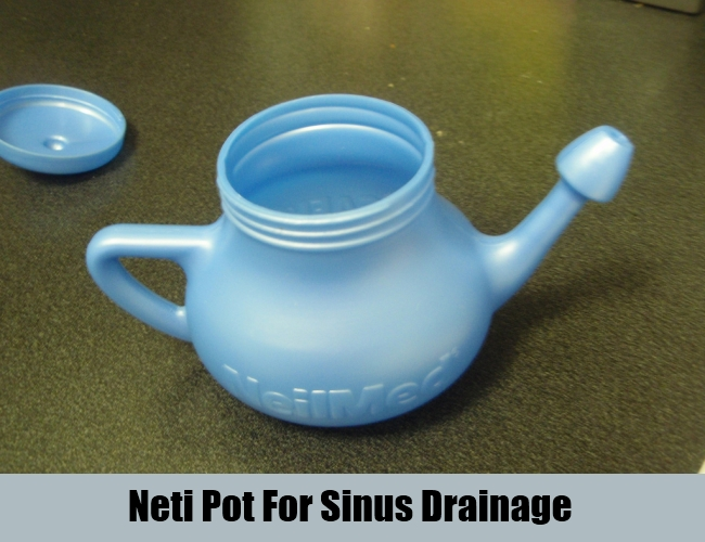 Neti Pot For Sinus Drainage