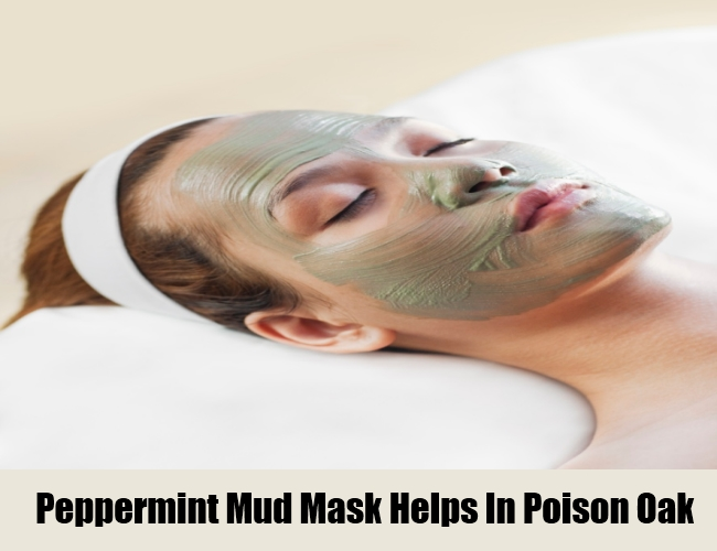 Peppermint Mud Mask Helps In Poison Oak