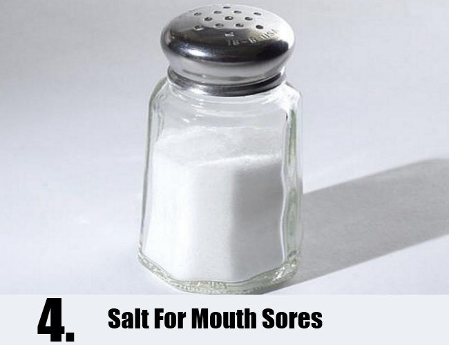 Salt For Mouth Sores