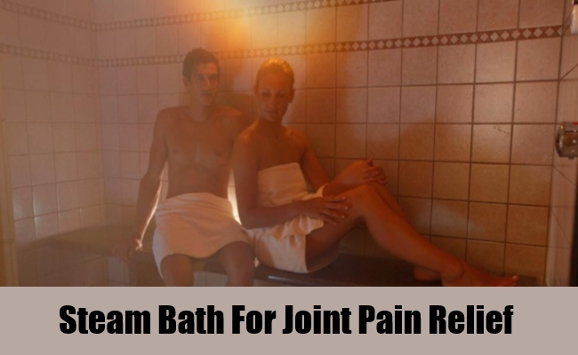 Steam Bath For Joint Pain Relief