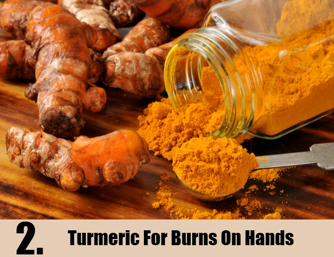 Turmeric For Burns On Hands