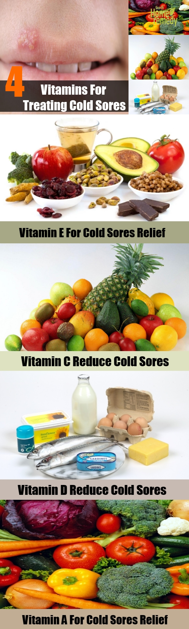 4 Best Vitamins For Treating Cold Sores