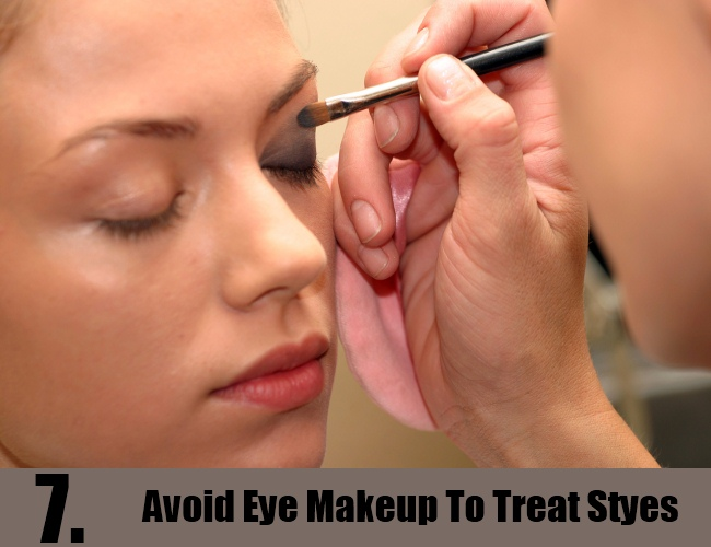 Avoid Eye Makeup To Treat Styes