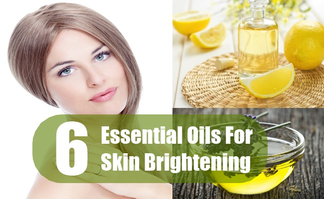 Essential Oils For Skin Brightening