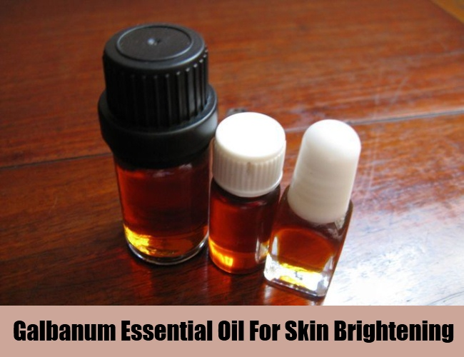 Galbanum Essential Oil For Skin Brightening