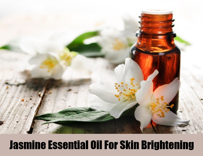Jasmine Essential Oil For Skin Brightening