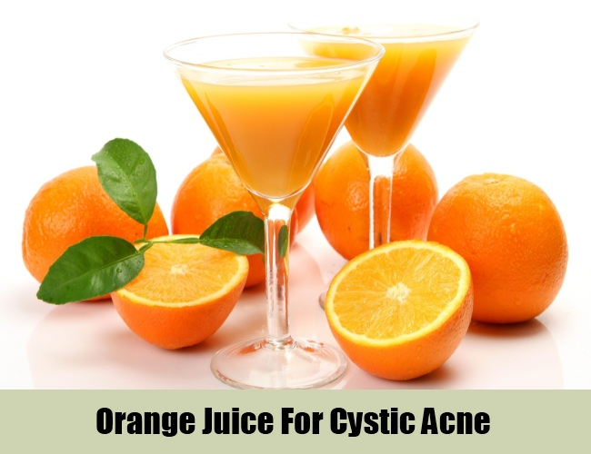Orange Juice For Cystic Acne