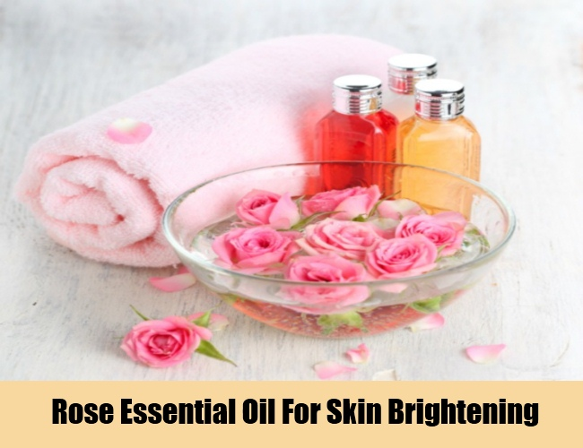 Rose Essential Oil For Skin Brightening