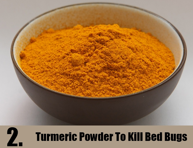 Turmeric Powder To Kill Bed Bugs