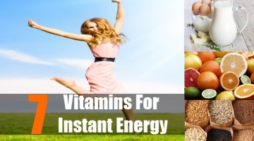 Vitamins for quick Energy