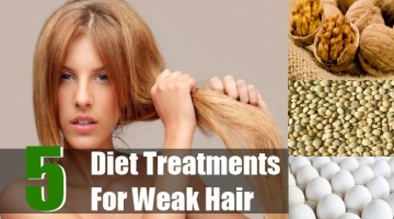 Diet Treatment For Weak Hair