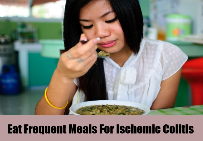 Eat Frequent Meals For Ischemic Colitis