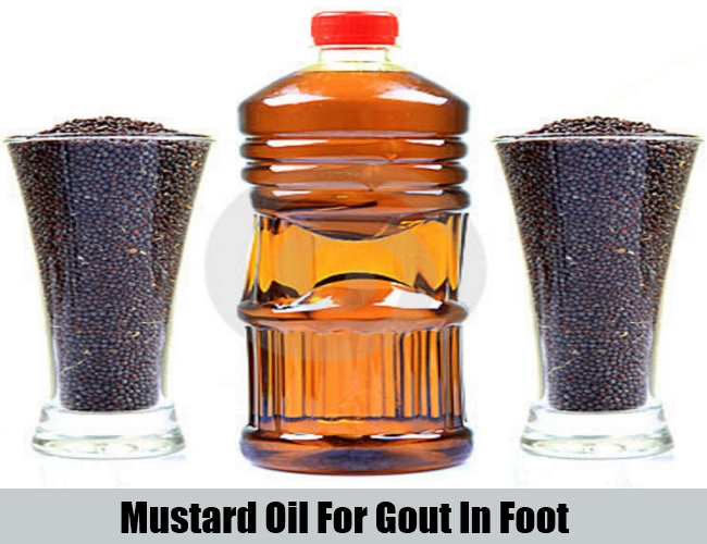 Mustard Oil For Gout In Foot