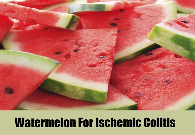 Watermelon For Ischemic Colitis